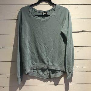 H By Bordeaux Aqua Sweatshirt